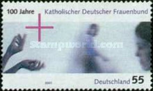 [The 100th Anniversary of the Catholic German Women's League, type CDC]