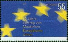 [The 10th Anniversary of the Treaty of Maastricht - European Union, type CDD]