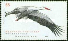 [Endangered Species - White Storks, Typ CDV]