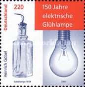 [The 150th Anniversary of the Electric Light Bulb, Typ CDX]
