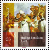 [The 1250th Anniversary of the Death of Saint Boniface, Typ CED]