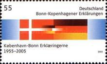 [The 50th Anniversary of the Bonn-Copenhagen Declaration - Joint Issue with Denmark, type CFV]