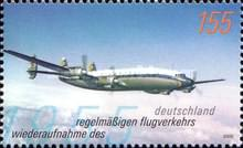 [The 50th Anniversary of the Resumption of Regular Air Transport in Germany, type CFW]