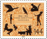 [The 200th Anniversary of the Birth of Hans Christian Andersen, 1805-1875, type CFZ]