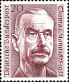 [The 1st Anniversary of the Death of Thomas Mann, type CG]
