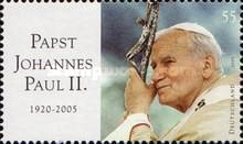 [Pope John Paul II Memorial Stamp, type CGG]