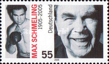 [The 100th Anniversary of the Birth of Max Schmeling, 1905-2005, type CHF]