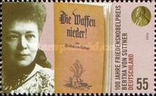 [The 100th Anniversary of Bertha von Suttner Winning the Nobel Prize, type CHL]