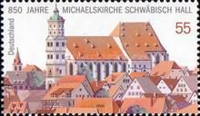 [The 850th Anniversary of the Michael's Church in Schwabisch Hall, type CIG]