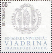 [The 500th Anniversary of the Viadrina University in Frankfurt (Oder), type CIR]