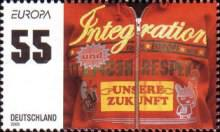 [EUROPA Stamps - Integration through the Eyes of Young People, type CIS]