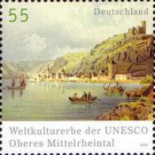 [World Heritage of UNESCO - Upper Middle Rhine Valley, type CIT]