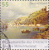 [World Heritage of UNESCO - Upper Middle Rhine Valley, type CIT1]