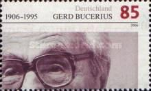 [The 100th Anniversary of the Birth of Gerd Bucerius, 1906-1995, Typ CIU]