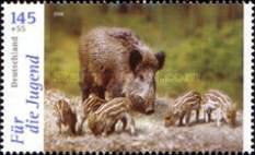 [Youth Philately - Forrest Fauna, Typ CJA]