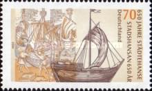 [The 650th Anniversary of the Hanseatic League, type CJN]