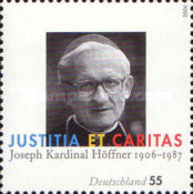 [The 100th Anniversary of the Birth of Joseph Höffner, 1906-1987, type CKA]