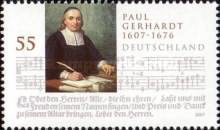 [The 400th Anniversary of the Birth of Paul Gerhardt, 1607-1676, Typ CKP]