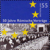 [The 50th Anniversary of the Treaty of Rome, Typ CKQ]