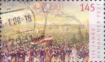 [The 175th Anniversary of the Hambach Celebration, Typ CKZ1]