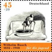 [The 175th Anniversary of the Birth of Wilhelm Busch, type CLA]