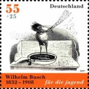 [The 175th Anniversary of the Birth of Wilhelm Busch, type CLB]