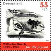 [The 175th Anniversary of the Birth of Wilhelm Busch, type CLC]