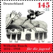 [The 175th Anniversary of the Birth of Wilhelm Busch, type CLD]