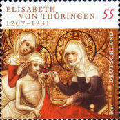 [The 800th Anniversary of the Birth of St. Elizabeth of Thuringia, Typ CLW]