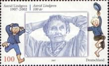 [The 100th Anniversary of the Birth of Astrid Lindgren, 1907-2002, Typ CLX]
