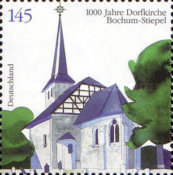 [The 1000th Anniversary of the village Church in Bochum-Stiepel, type CMK]