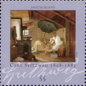 [The 200th Anniversary of the Birth of Carl Spitzweg, 1808-1885, Typ CML]