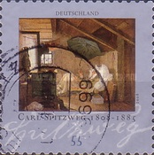 [The 200th Anniversary of the Birth of Carl Spitzweg, 1808-1885, Typ CML1]