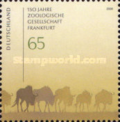 [The 150th Anniversary of the Frankfurt Zoological Society, type CMQ]