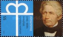 [The 200th Anniversary of the Birth of Johann Hinrich Wichern, 1808-1881, Typ CMT]
