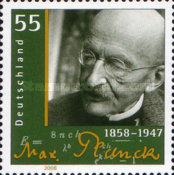 [The 150th Anniversary of the Birth of Max Planck, 1858-1947, type CMU]