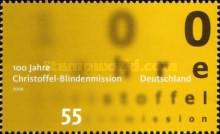 [The 100th Anniversary of the Christian Mission for Blind People, type CNA]