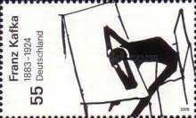 [The 125th Anniversary of the Birth of Franz Kafka, 1883-1924, Typ CNK]
