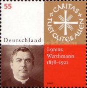 [The 150th Anniversary of the Birth of Lorenz Wertmann, 1858-1921, Typ CNZ]