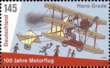 [the 100th Anniversary of the 1st Powered Flight in Germany, type COA]