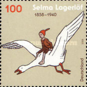 [The 150th Anniversary of the Birth of Selma Lagerlöf, 1858-1940, Typ COE]