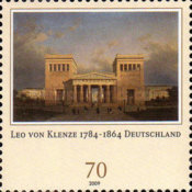 [The 225th Anniversary of the Birth of Leo von Klenze, 1784-1864, Typ COO]