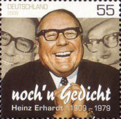 [The 100th Anniversary of the Birth of Heinz Erhardt, 1909-1979, type COQ]