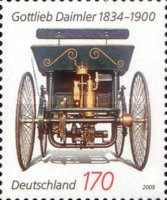 [The 175th Anniversary of the Birth of Gottlieb Daimler, 1834-1900, Typ COU]