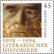 [The 100th Anniversary of the Birth of Golo Mann, 1909-1994, type COV]
