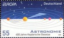 [EUROPA Stamps - Astronomy, Typ CPB]