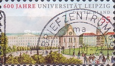 [The 600th Anniversary of the University of Leipzig, type CPN1]