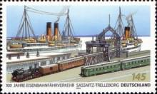 [The 100th Anniversary of the Sassnitz-Trelleborg (Royal Line) Connection, type CPO]