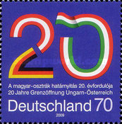 [The 20th Anniversary of the Opening of the Hungarian-Austrian Border, type CPZ]