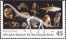 [The 200th Anniversary of the Museum of Natural History - Berlin, Typ CQP]